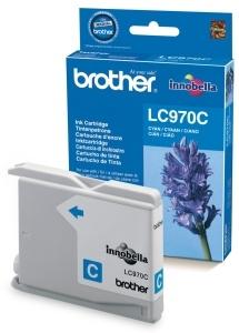 Azurová inkoustová kazeta Brother LC-970C (DCP-135C) - Originální LC970C