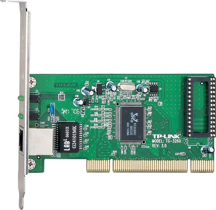 TP LINK TG-3269 siť.karta 10/100/1000 PCI RealtekRTL8169 TG-3269