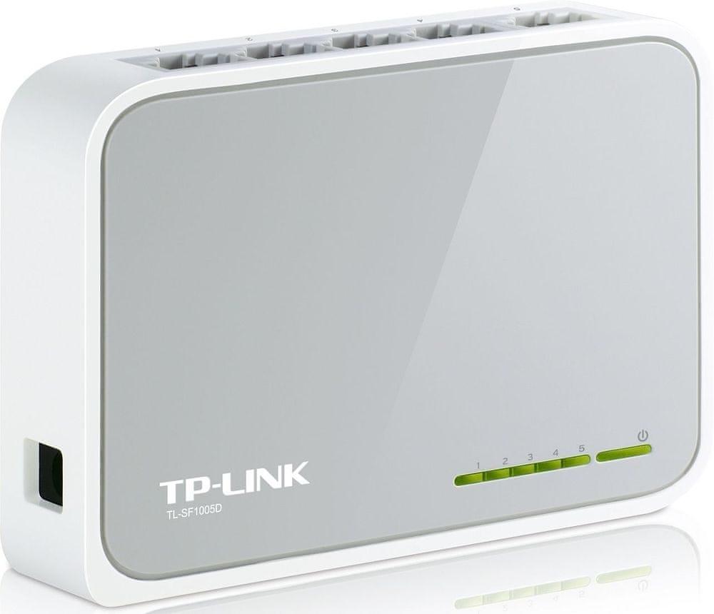 mini switch TP-LINK 5 x 10/100 Mbs + 1 x uplink TL-SF1005D