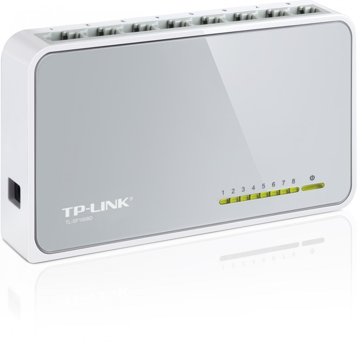 mini switch TP-LINK 8 x 10/100 Mbs + 1 x uplink TL-SF1008D