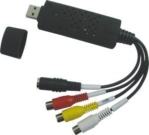 EasyCAP USB 2.0 Video/audio grabber pro zachytávání záznamu,30fps, vč. software