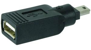 PremiumCord USB redukce A/F - 5pin mini/M