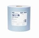 Průmyslová papírová utěrka Tork Advanced 430 velká role modrá