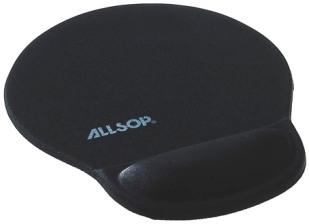 Allsop Gelová podložka pod myš černá 05940