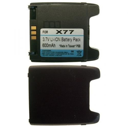 Baterie pro Panasonic X77, Li-Ion 600 mAh AKPAX770600LI