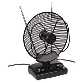 Aktivní pokojová anténa Hama - VHF/UHF/FM, 36 dB