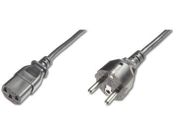 Kabel síťový 230V k počítači 2m , přímý konektor do…