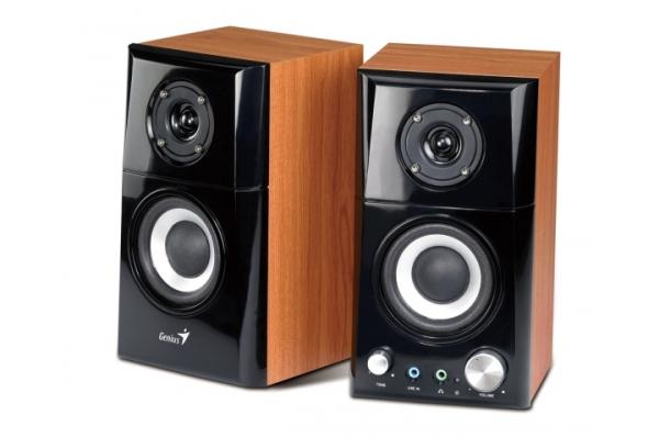 Speaker GENIUS SP-HF 500A wood 2.0 14W 31730905100