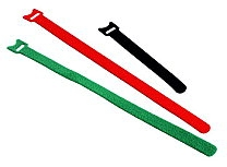 Stahovací páska na suchý zip Fastech 150 x 13 mm, černá