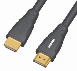 PremiumCord Kabel HDMI A - HDMI A M/M 5m zlac. kon.,verze HDMI 1.3b 8592220000332