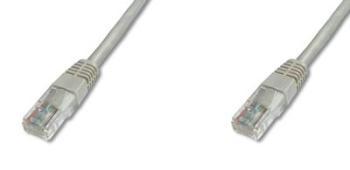 PremiumCord Patch kabel UTP RJ45-RJ45 CAT6 20m šedá