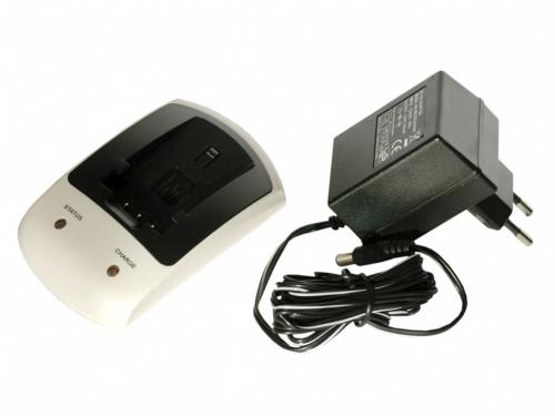 Nabíječka T6 power pro Panasonic CGA-S303, VW-VBE10, CGA-S303/1B, CGA-S303E/1B, 230V, 12V, 1A