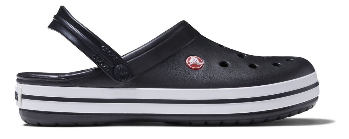 Crocs Crocband - Black, M10/W12 (43-44)