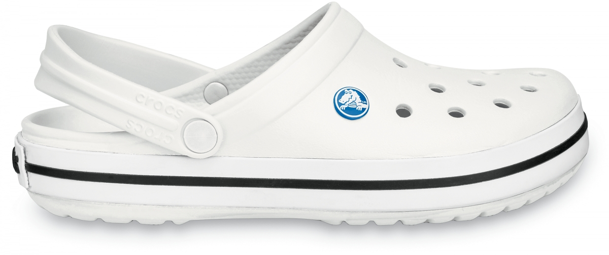 Crocs Crocband - White, M4/W6 (36-37)
