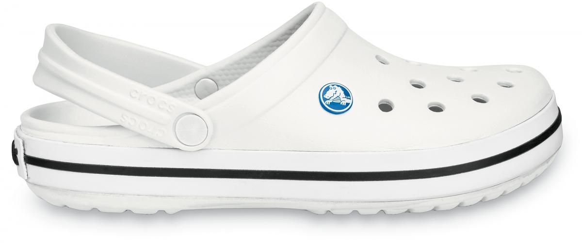 Crocs Crocband - White, M9/W11 (42-43)