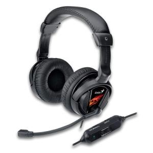 Sluchátka s mik. GENIUS HS-G500V gaming USB 31710020101