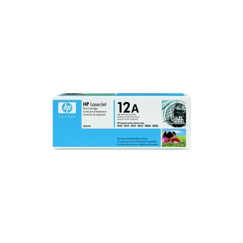 Černá tonerová kazeta HP (Q2612A) pro LaserJet 1010 - Originální Q2612A
