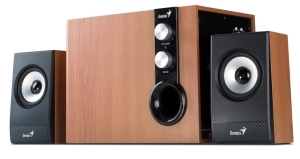 Speaker GENIUS SW-HF2.1 1205 32W maple wood 31730972100