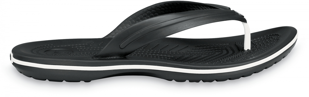Crocs Crocband Flip - Black, M7/W9 (39-40)