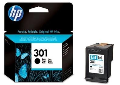 Černá inkoustová kazeta HP 301 (HP301, HP-301, CH561EE) - Originální CH561EE