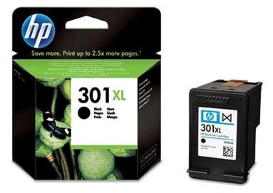 Černá inkoustová kazeta HP 301XL (HP301XL, HP-301XL, CH563EE) - Originální CH563EE