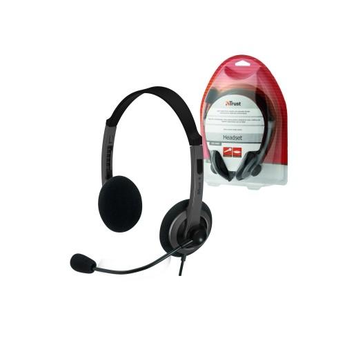 náhlavní sada TRUST Headset HS-2450 15480