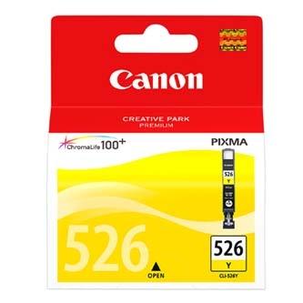 Žlutá inkoustová kazeta Canon CLI-526Y (MG5250) - Originální 4543B001