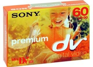 Sony videokazeta Mini Dv, DVM60PR 1 ks DVM60PR
