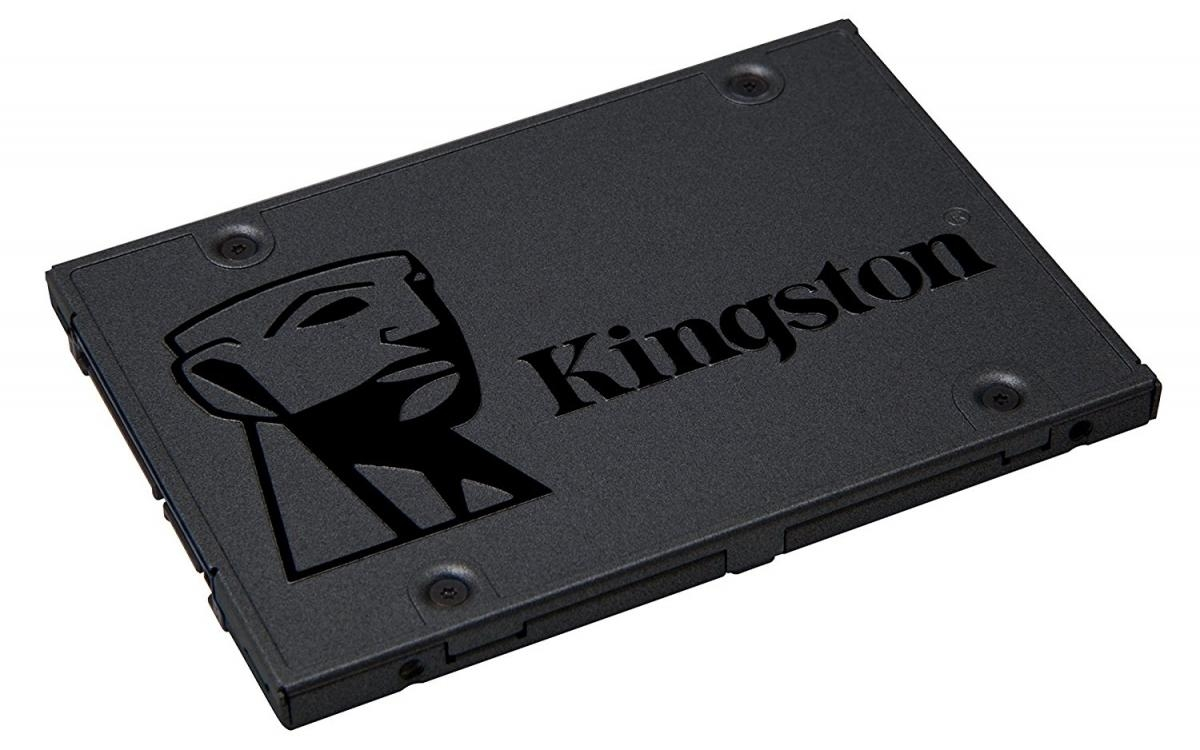 Kingston Flash SSD 120GB A400 SATA3 2.5 SSD (7mm height) SVP100S2B/256GR