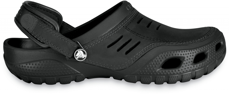 Crocs Yukon Sport - Black/Black, M10/W12 (43-44)