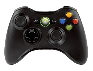 XBOX 360 Wireless Controller Black new NSF-00002