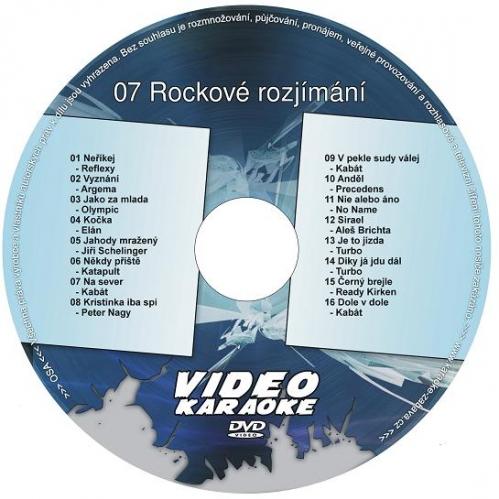 Karaoke kompilace DVD: 07 Rockové rozjímání