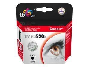 Černá inkoustová kazeta TB kompatibilní s Canon PGI-520B (PGI-520BK) - Alternativní TBC-PGI520B