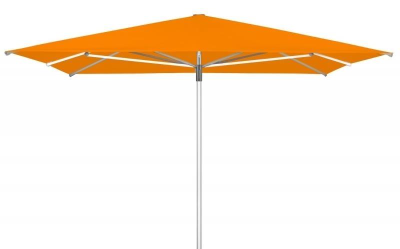 Zahradní slunečník Doppler TELESTAR 400 x 400 cm - Oranžová