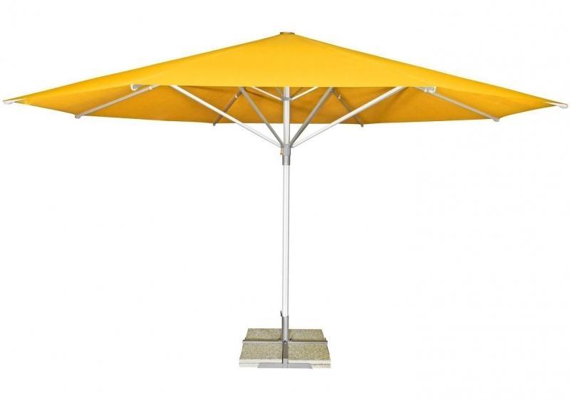 Zahradní slunečník Doppler TELESTAR 500 cm - Žlutá