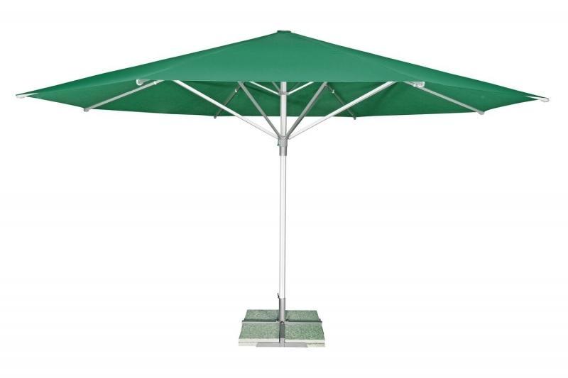 Zahradní slunečník Doppler TELESTAR 500 cm - Tmavě zelená