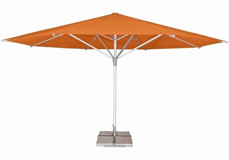 Zahradní slunečník Doppler TELESTAR 500 cm - Oranžová