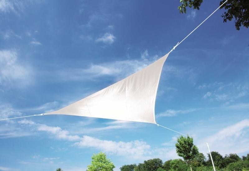 Zahradní sluneční clona Doppler ALUPRO, 5m - Bílá