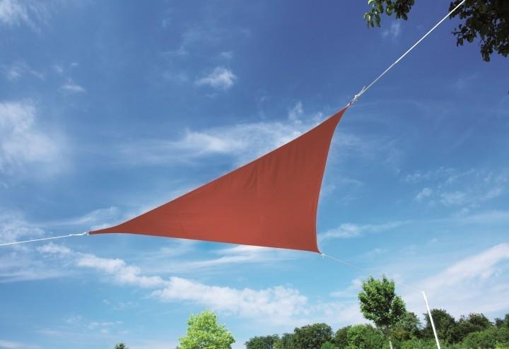 Zahradní sluneční clona Doppler ALUPRO, 5m - Terakota