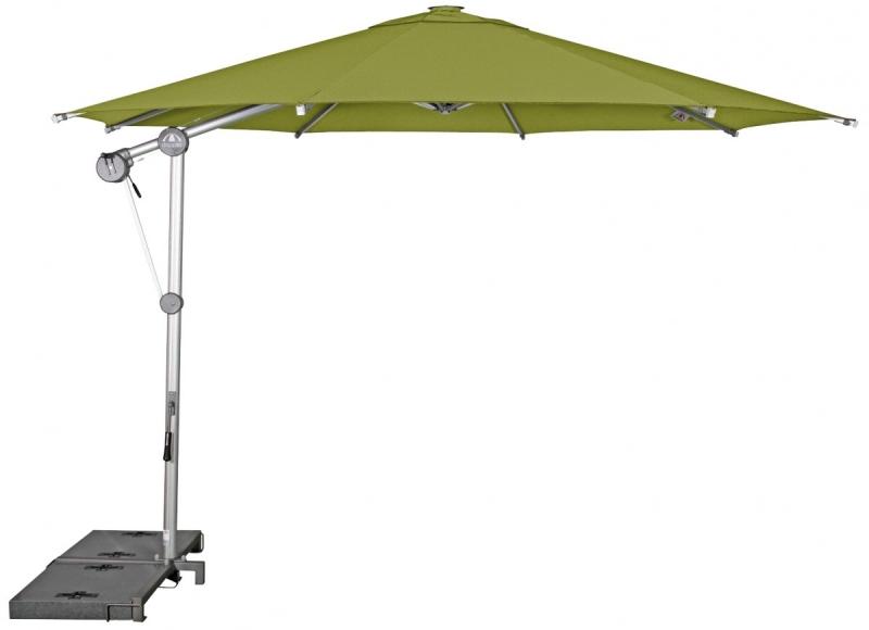 Zahradní slunečník Doppler PROTECT 340P - Smaragd