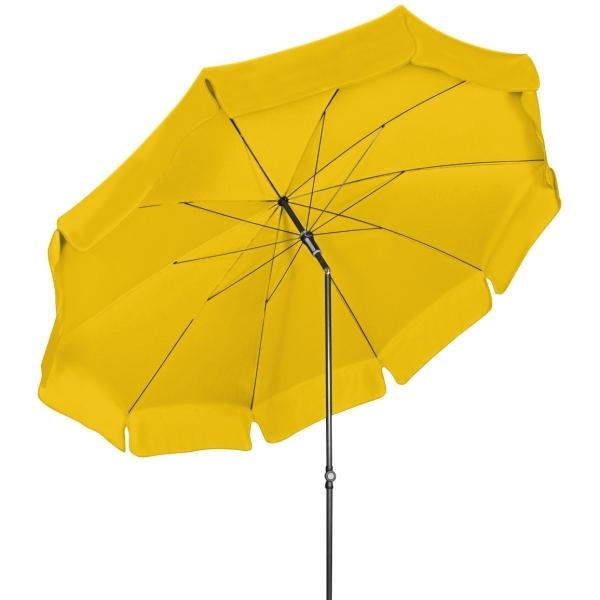Slunečník Doppler WATERPROOF 250 cm - proužky - 811S žlutý pruh