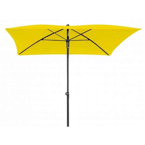 Zahradní slunečník Doppler WATERPROOF 200x200 - Žlutá