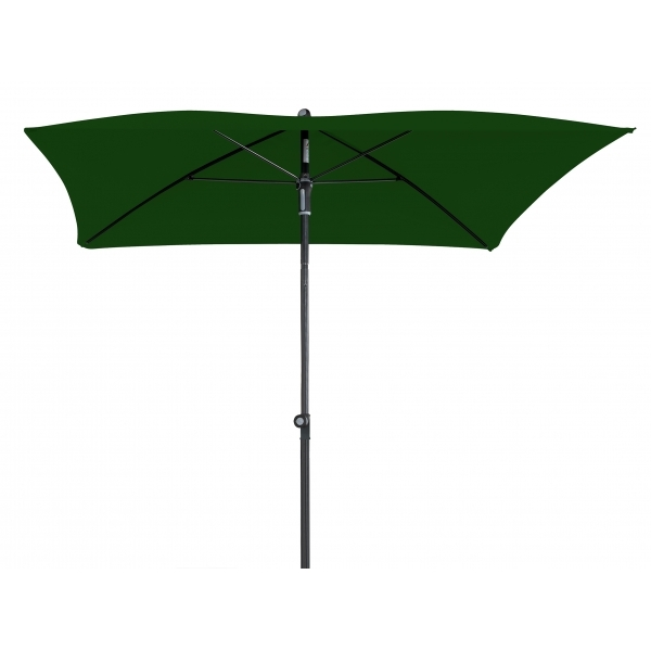 Zahradní slunečník Doppler WATERPROOF 200x200 - Tmavě zelená