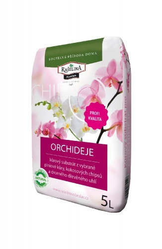 Kůrový substrát pro orchideje 5 l