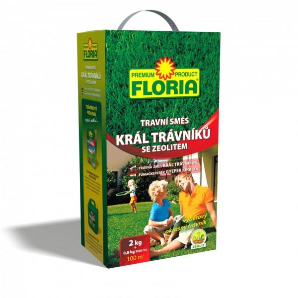 FLORIA TS Král trávníků 2 kg+zeolit 800 g příbal