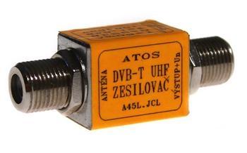 Zesilovač ATlink F-F 29/33 dB - 5/12V - 98/106 dBµV