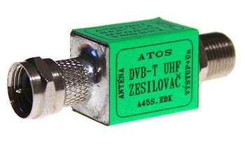 Zesilovač ATlink FF-F 21/20dB - 5/12V - 90/100dBµV