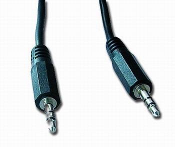 Kabel přípojný jack 3,5mm M/M, 5m, audio CCA-404-5M
