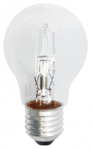 Halogenová žárovka ECO A60 70W E27 teplá bílá, stmívatelná