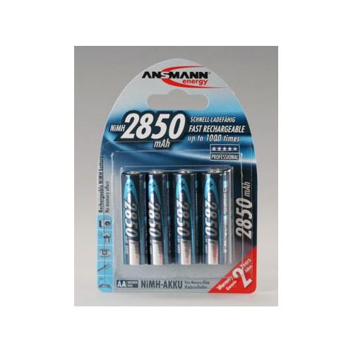 Nabíjecí baterie Ansmann AA 2850 mAh, 4ks 7522